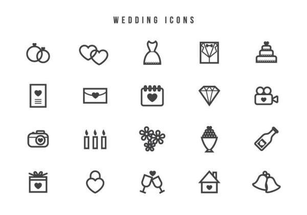 free wedding icons # 42