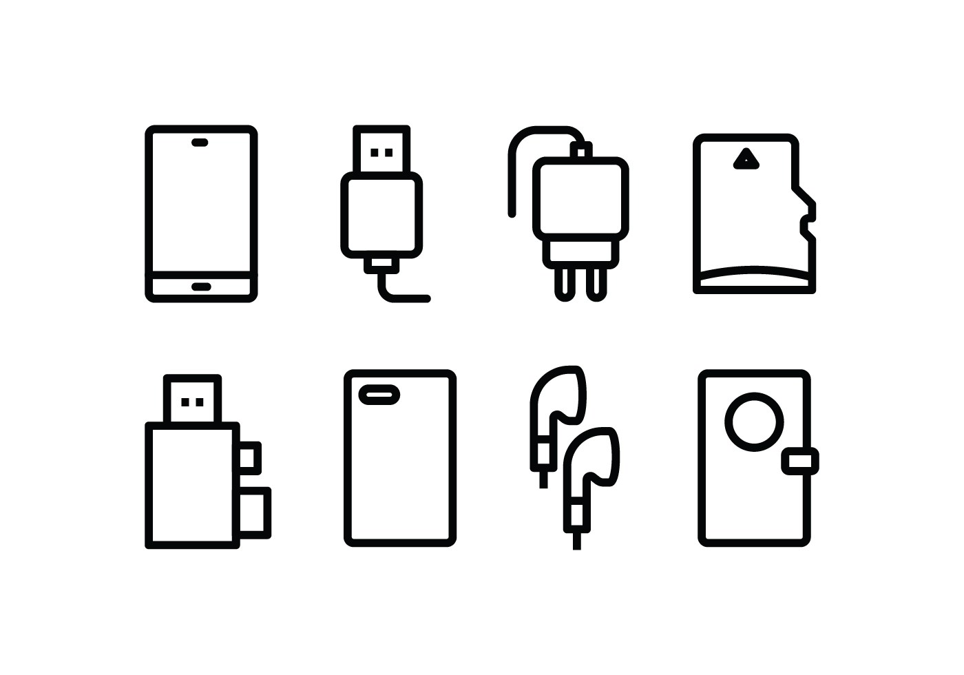 Phone Accessories Icon Pack
