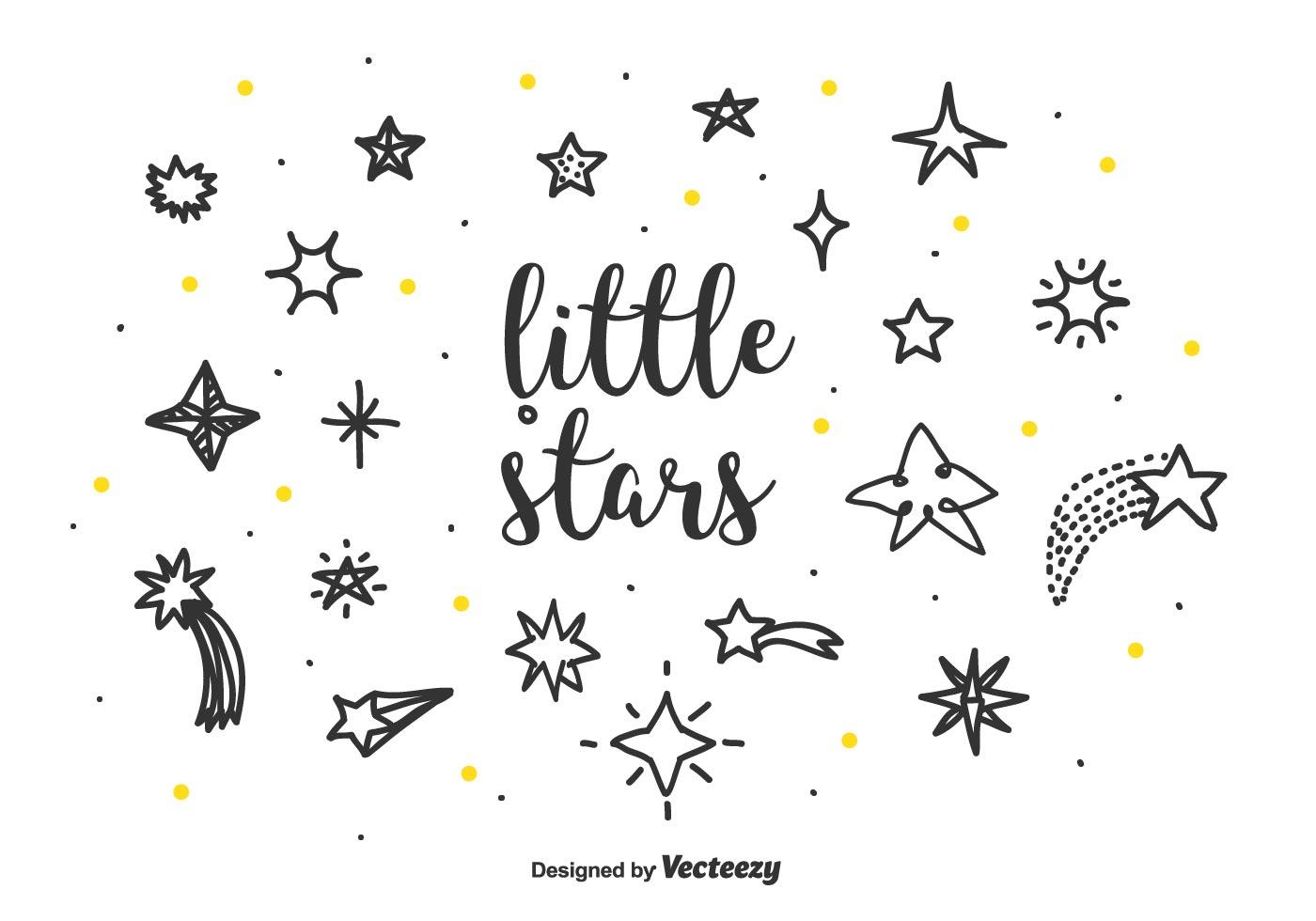 Little Stars Vector Set