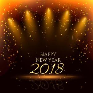 happy new year party background with golden confetti   Download Free     happy new year party background with golden confetti