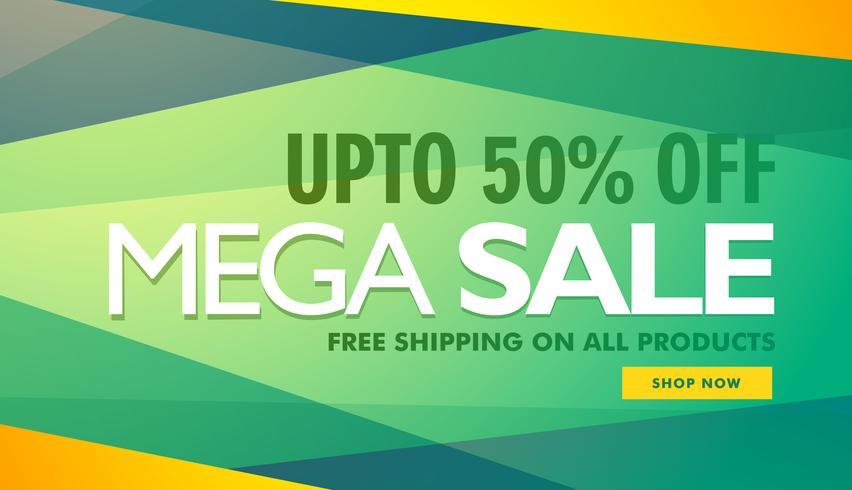 Mega Sale Creative Design Banner Template Download Free Vector Art Stock Graphics Amp Images