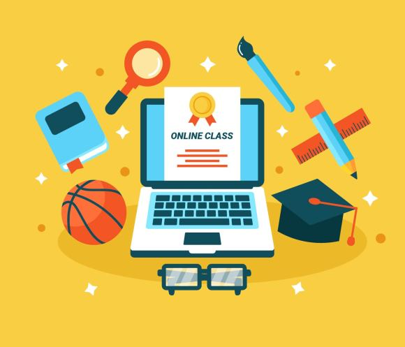 Online Learning Vector - Download Free Vectors, Clipart ...