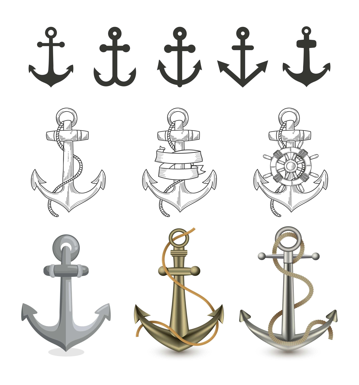 Anchor Free Vector Art