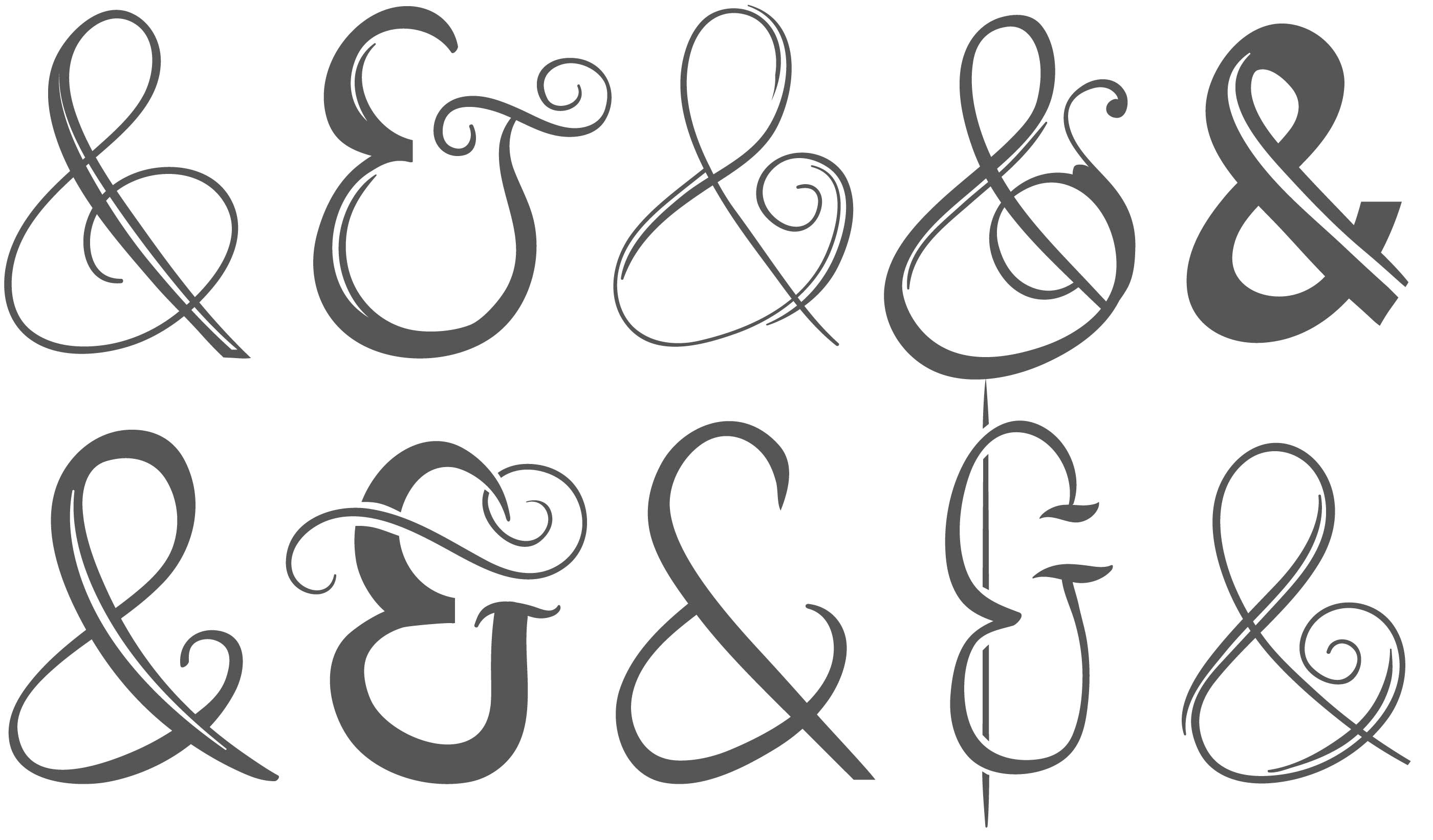 Ampersand Free Vector Art