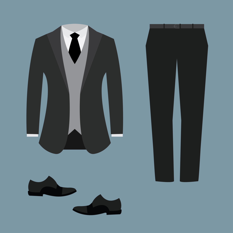 Mens Tuxedo Suit Download Free Vector Art Stock