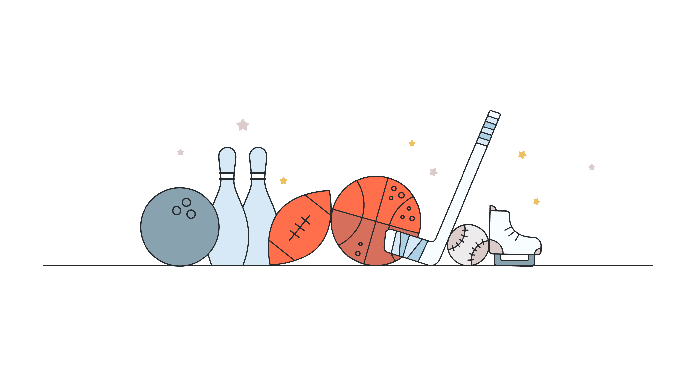 Sports Items Vector Download Free Vector Art Stock