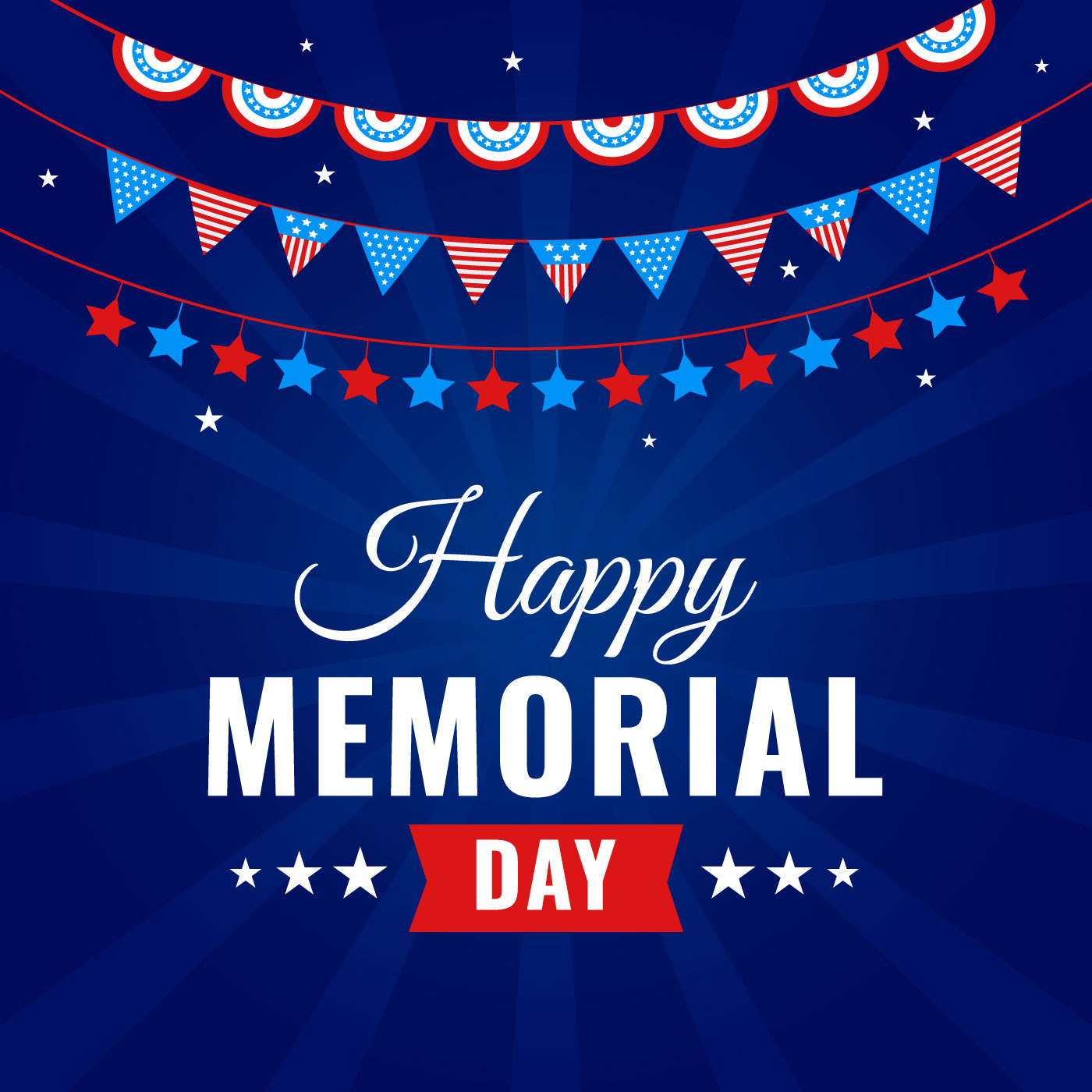 Happy Memorial Day Celebration