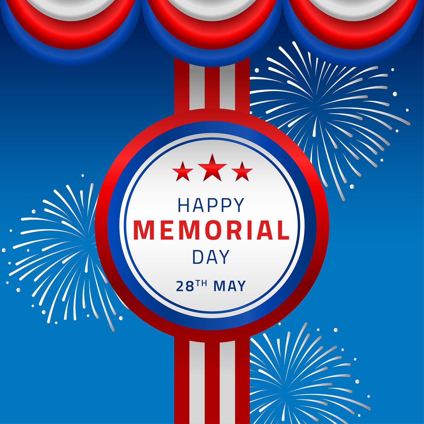 Happy Memorial Day Decor