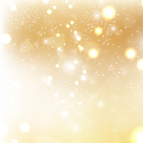 Gold Christmas Background With Snowflakes Download Free