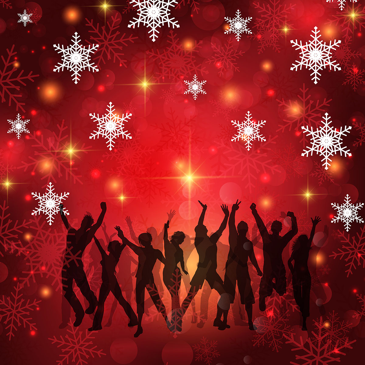 Christmas Party Background Download Free Vector Art