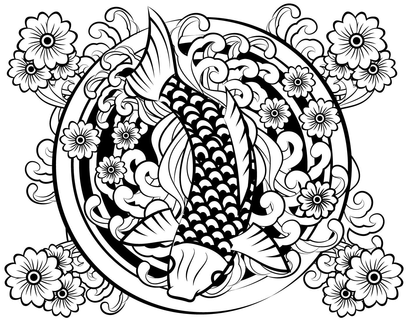 Japanese Tattoo Vector