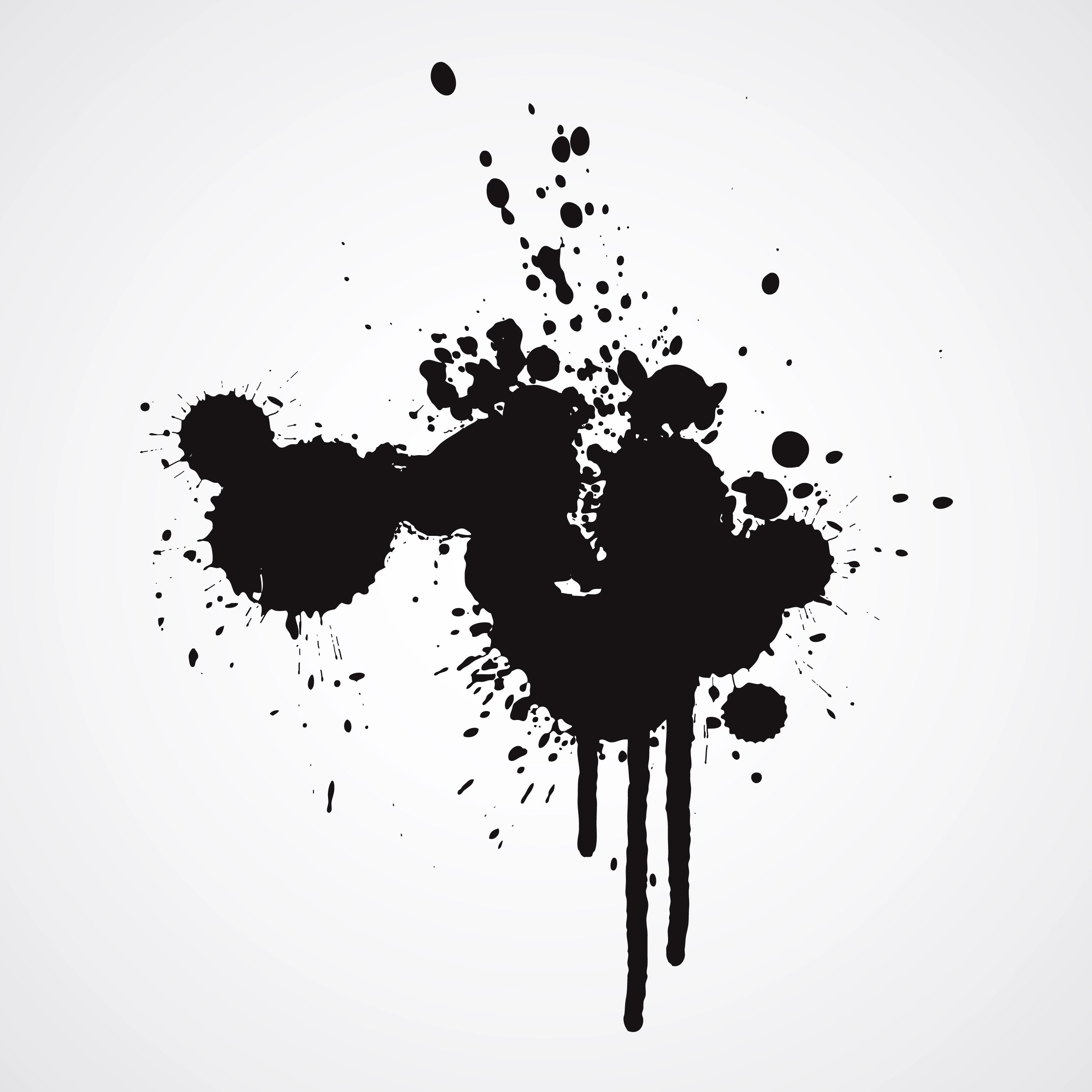 Ink Splash Vector 1