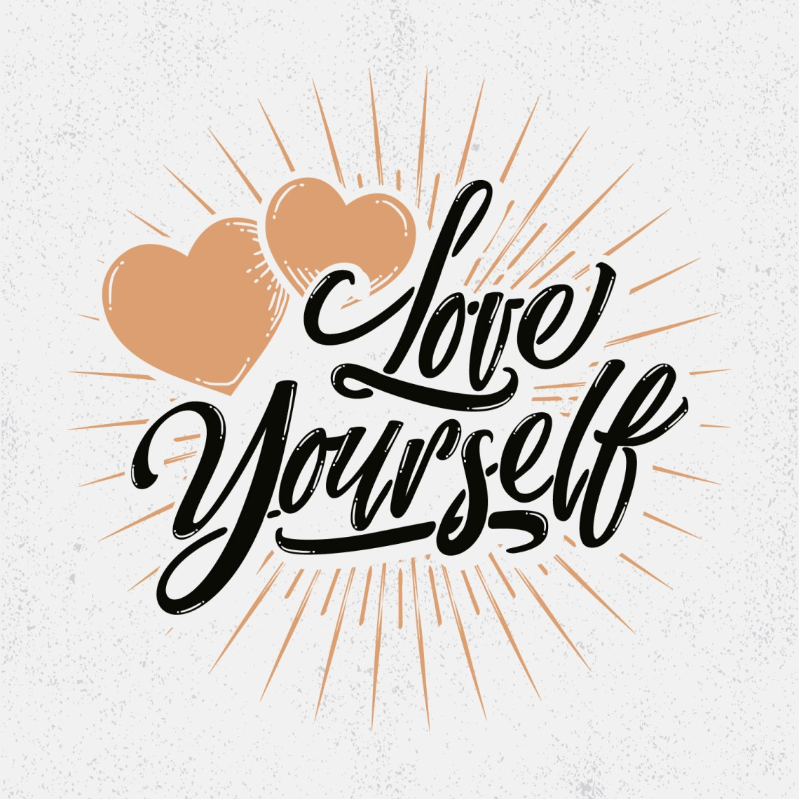 Download Love Yourself Typography - Download Free Vectors, Clipart ...