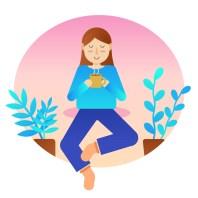 woman relaxing -  AMALAwellness - Middlesbrough stockton teesside , yoga meditation and gentle exercise