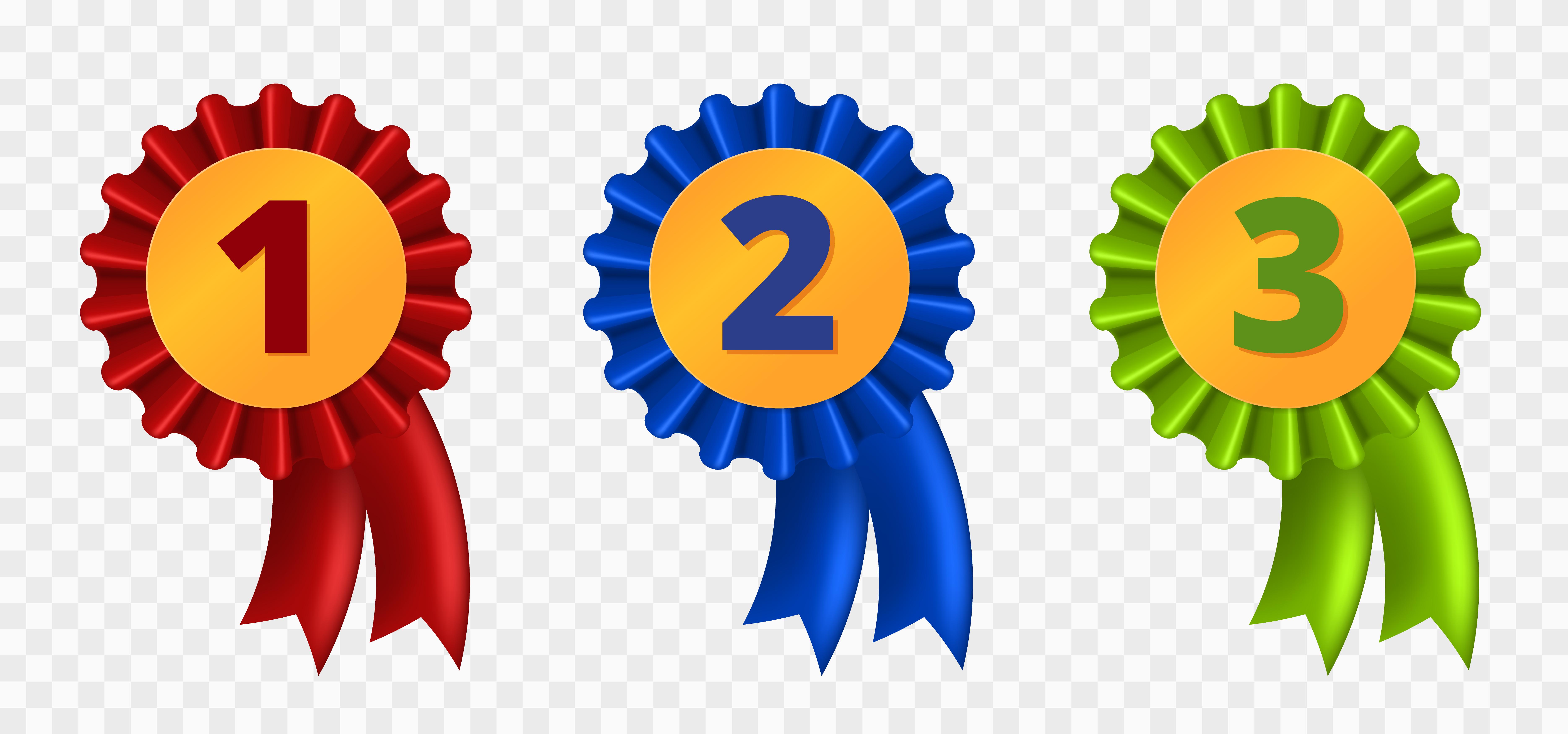 Ribbon Award Three Variants