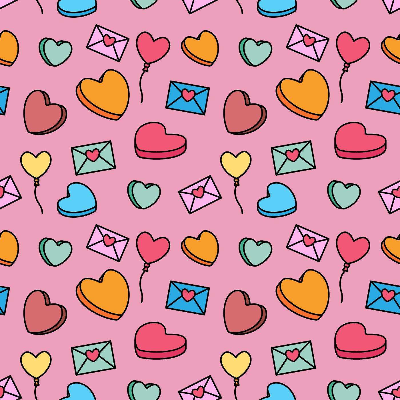 Valentine Candy Pattern