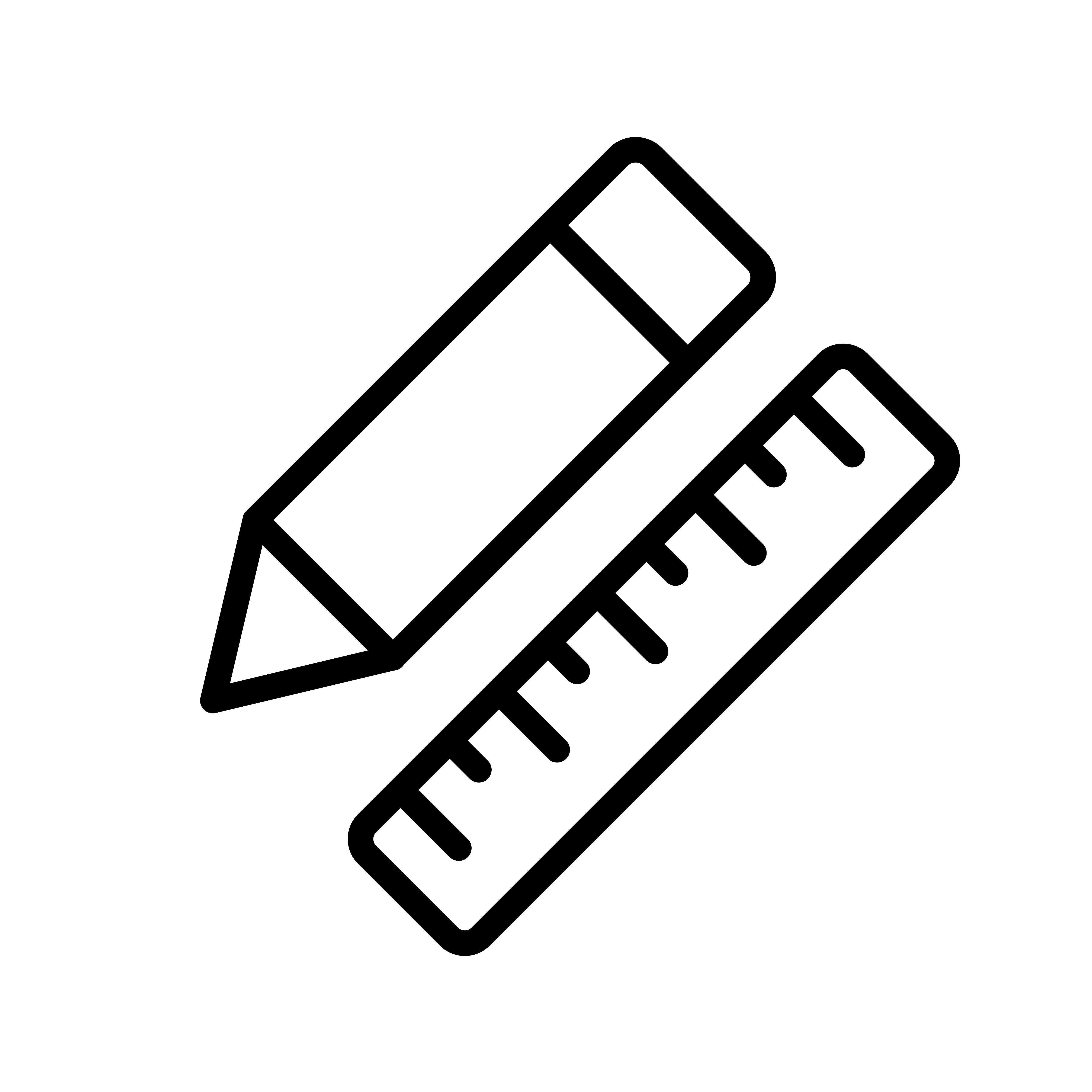 Vector Pencil Amp Ruler Icon