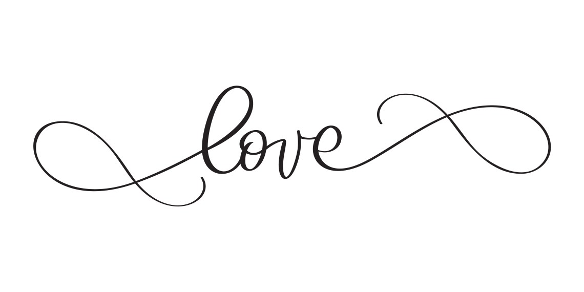 Download Love you postcard. Phrase calligraphy for Valentine's day ...