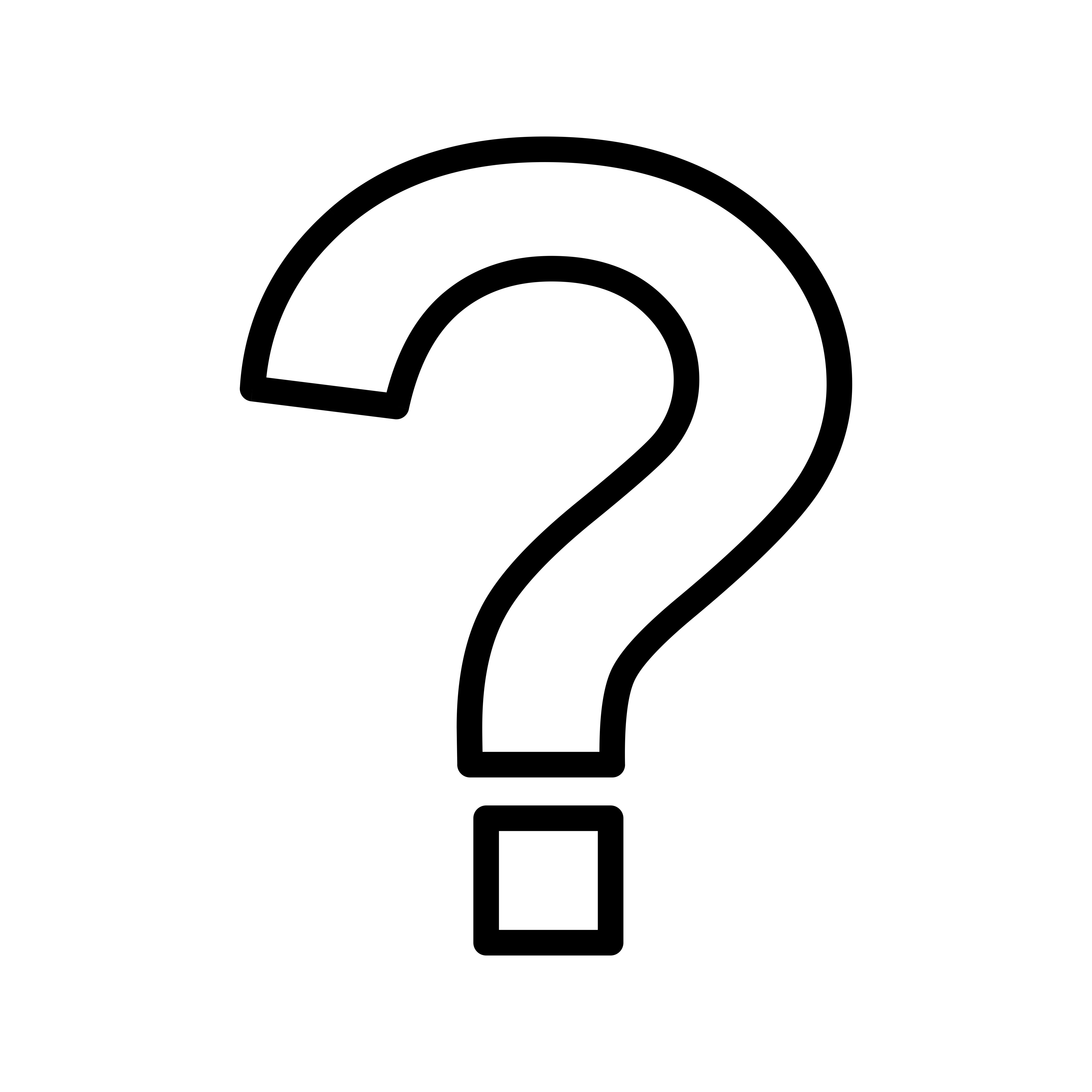 Question Mark Vector Icon
