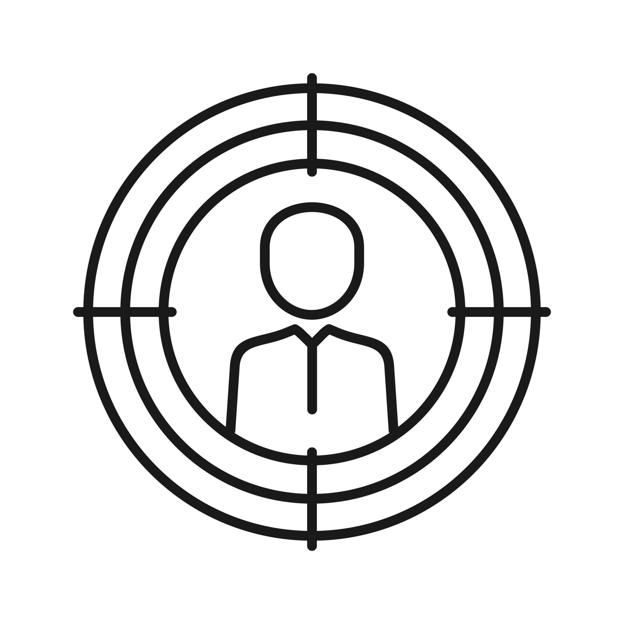 Target Marketing Seo Line Icons