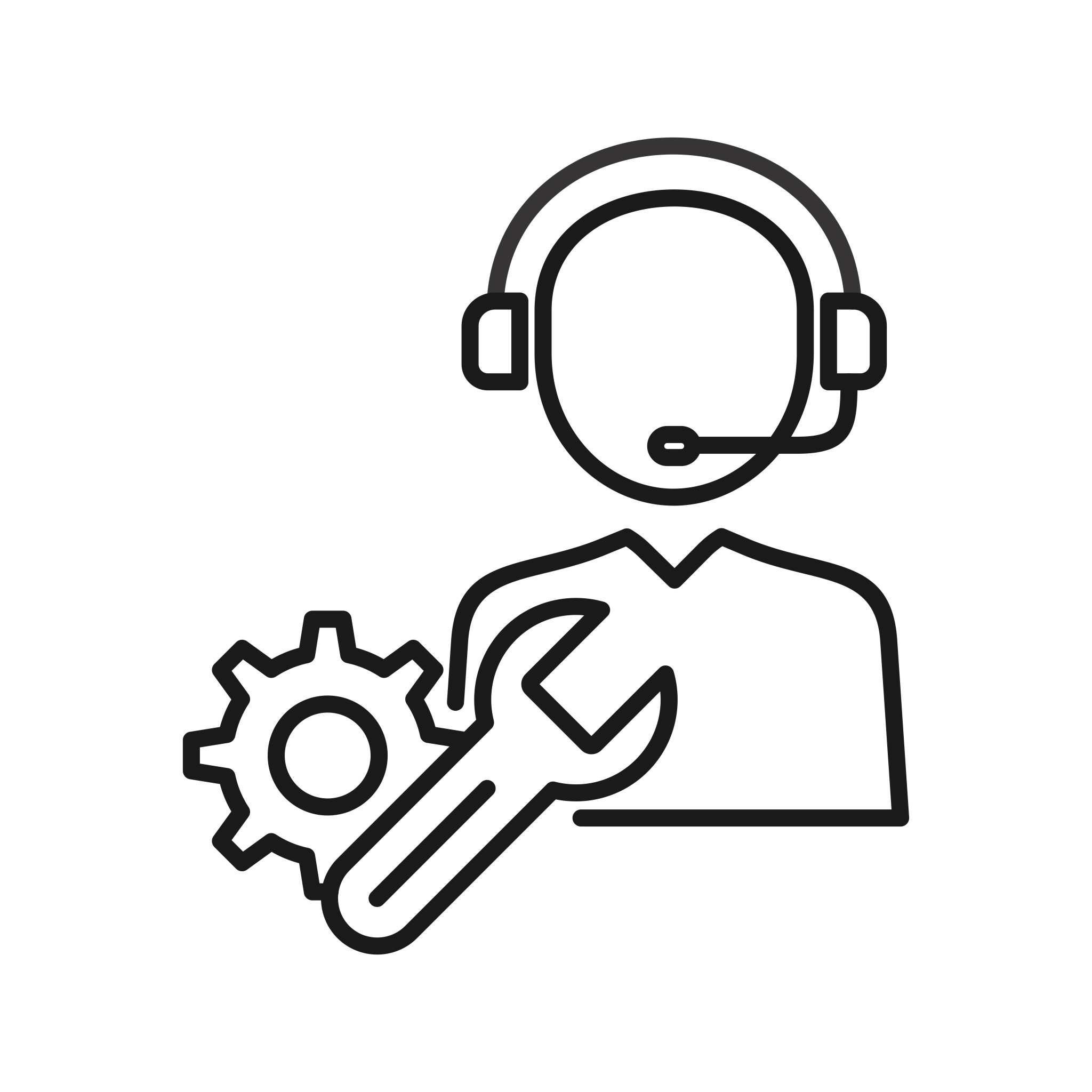 Technical Support Seo Line Icons