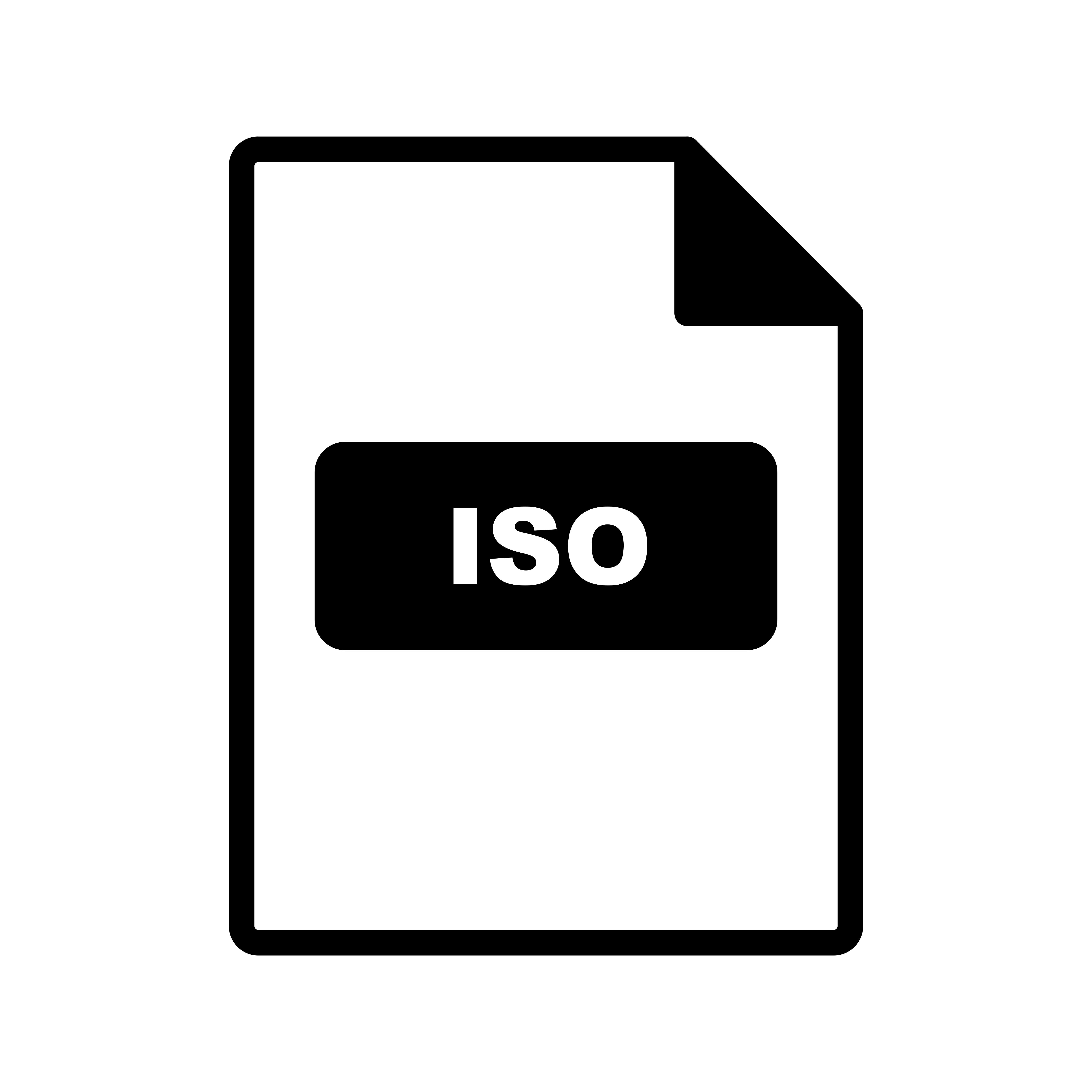 Iso Vector Icon