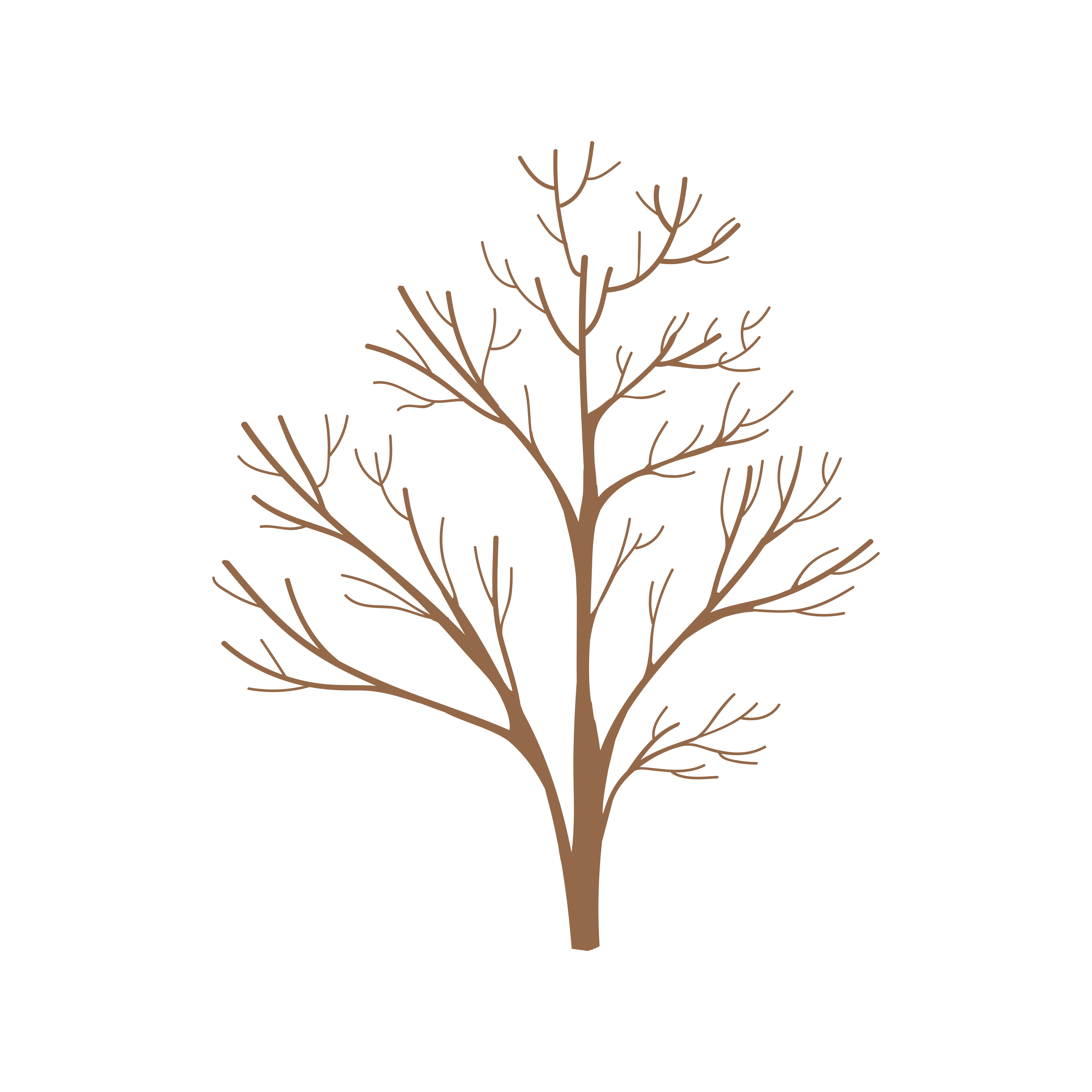 Tree Without Leaves Free Vector Art