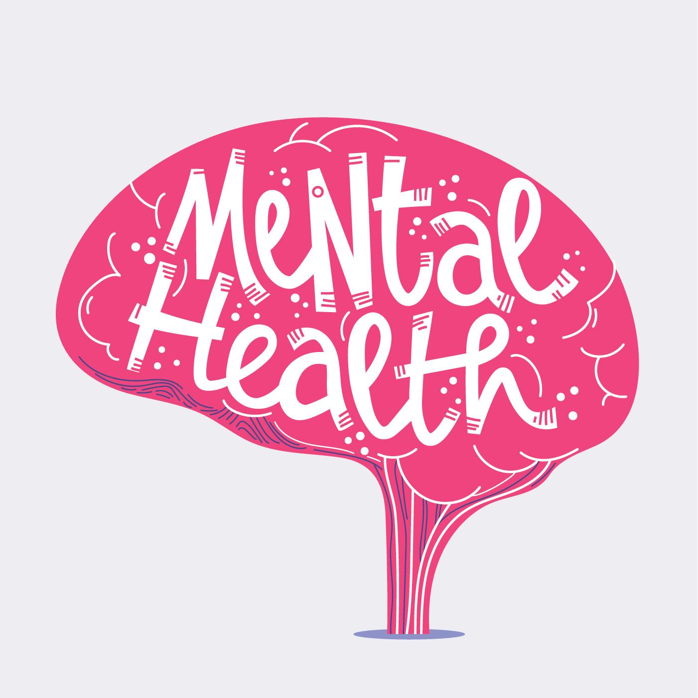 Mental Health Lettering