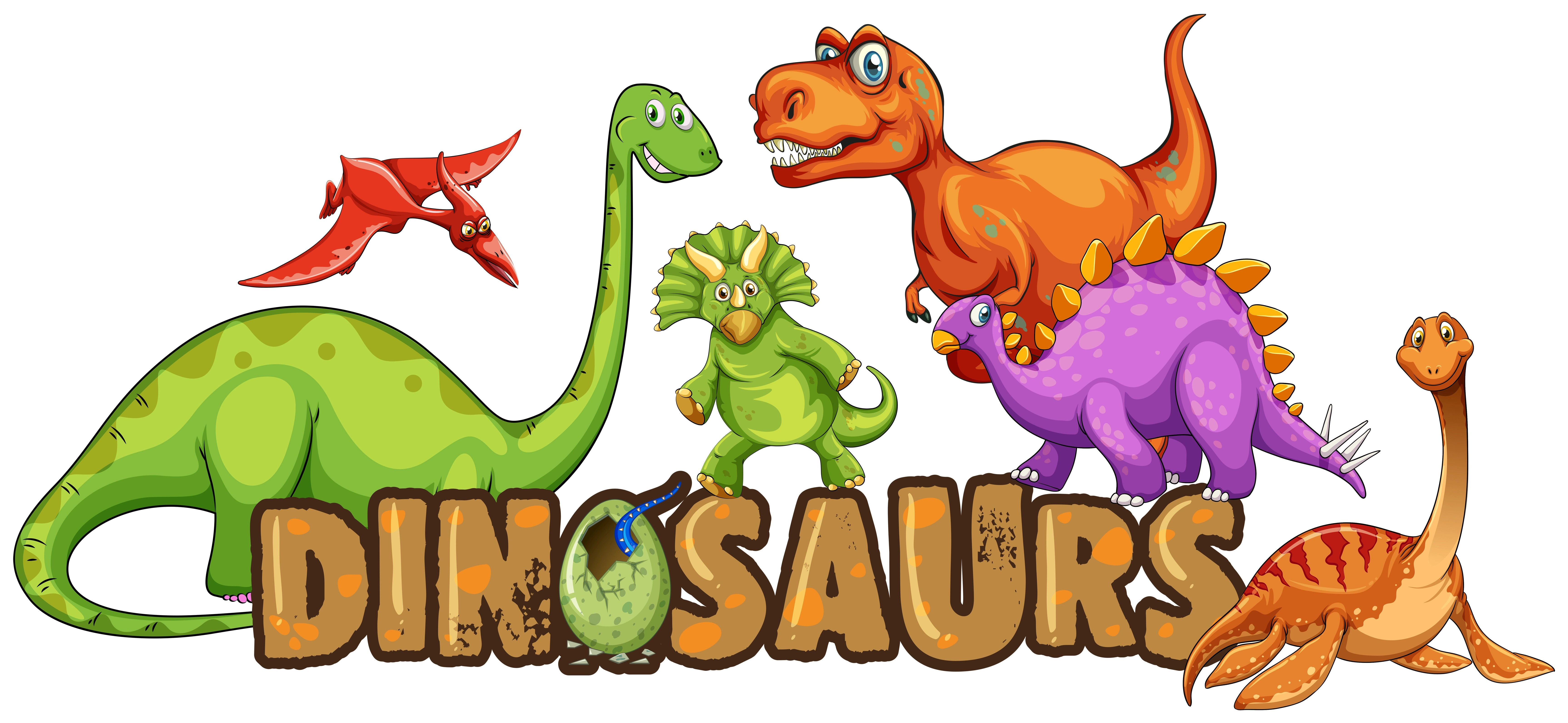 Word Design For Dinosaurs