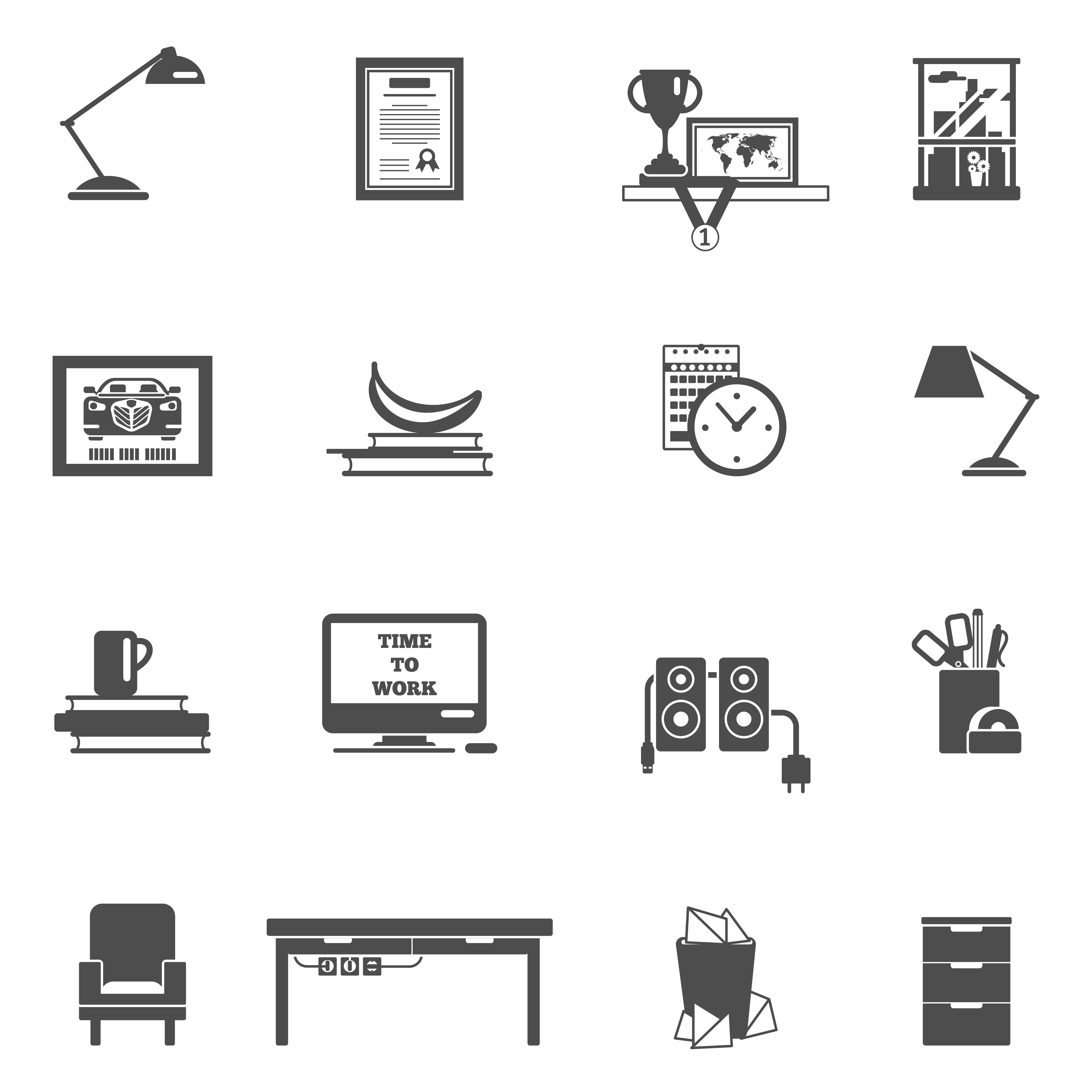 Room Interior Icons