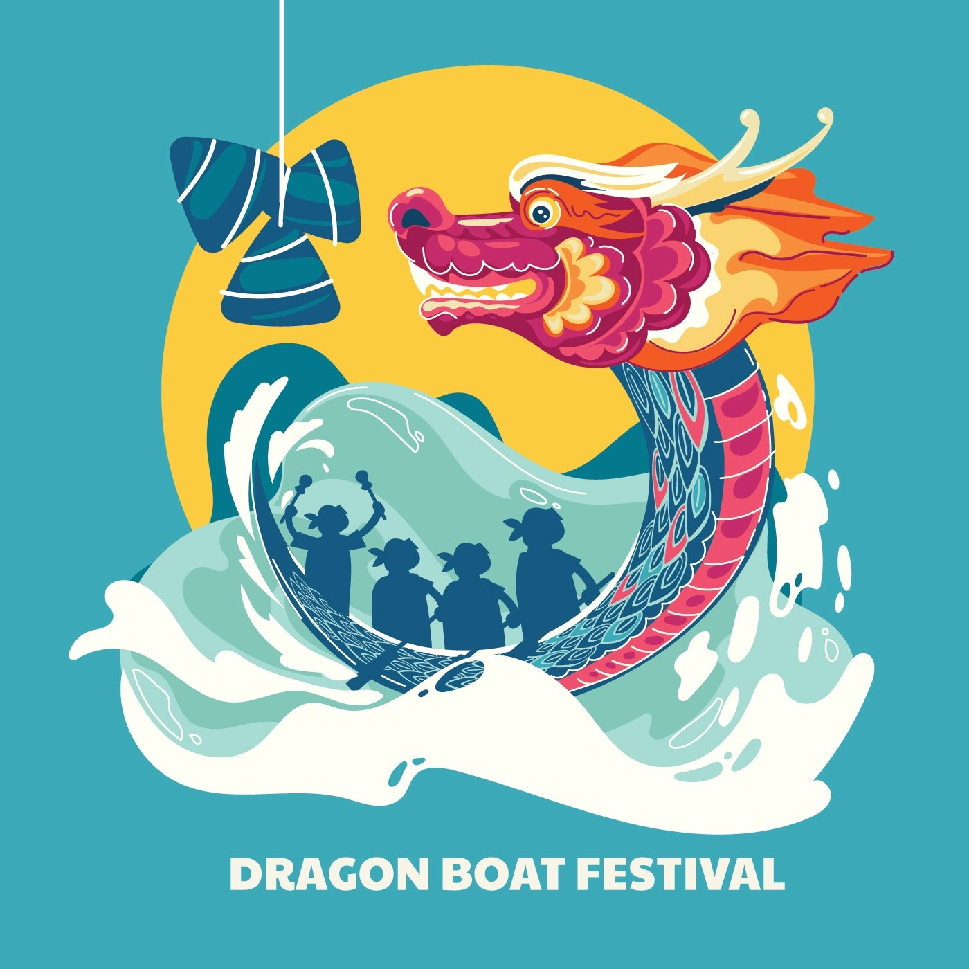 Dragon Boat Festival Illustration