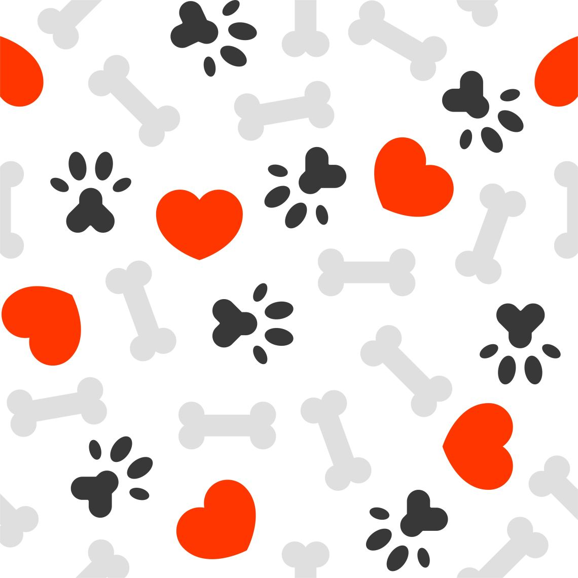 Download Paw Print Heart Free Vector Art - (39 Free Downloads)