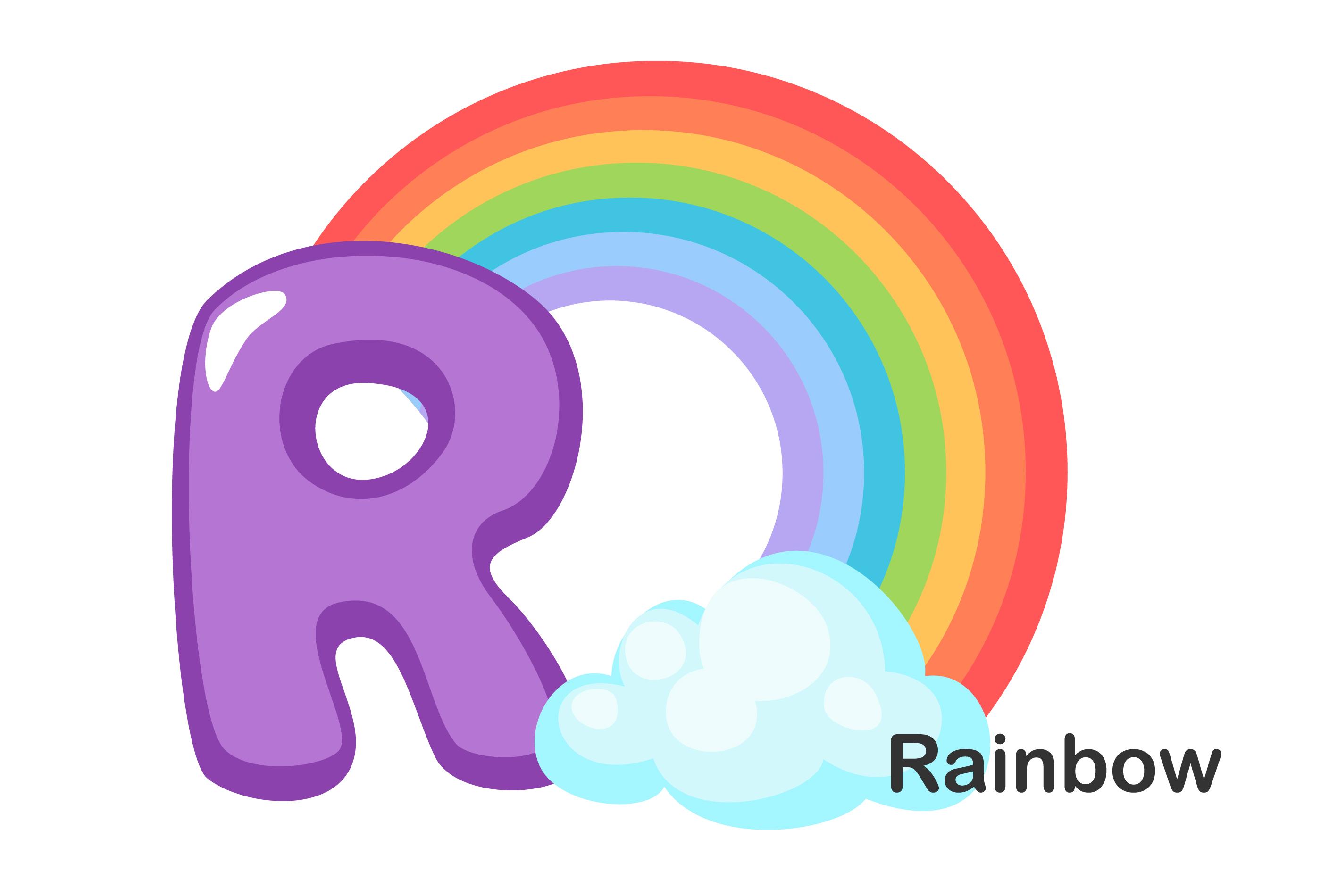 R Para Rainbow