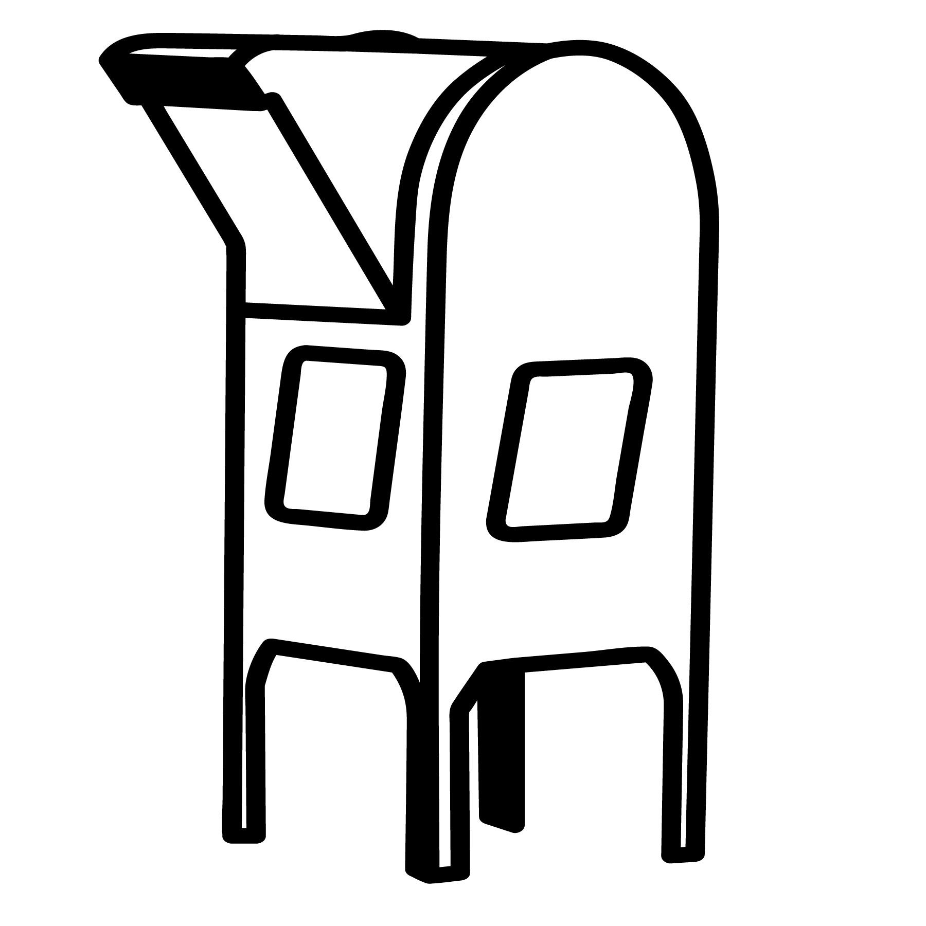 Mailbox Vector Eps