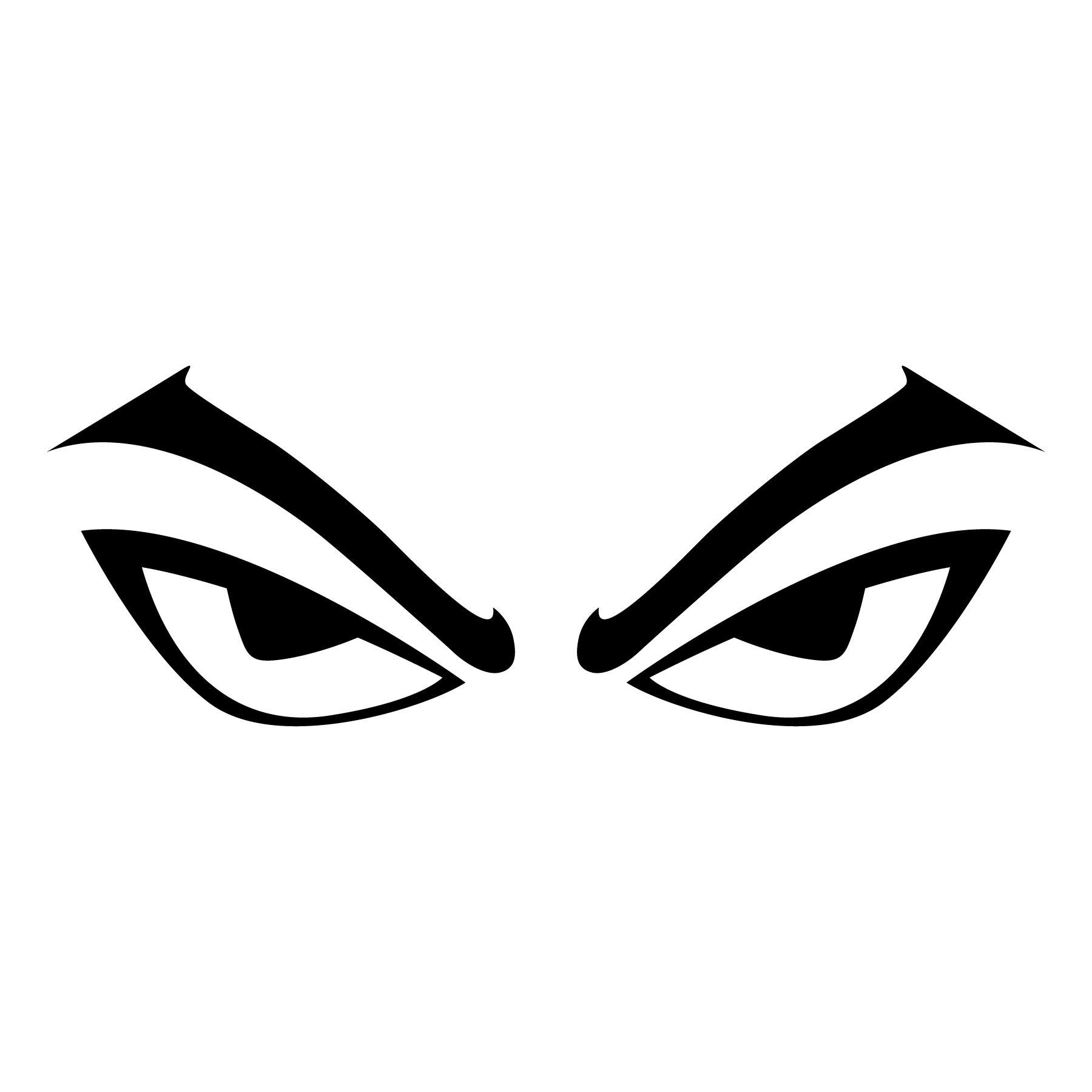 Angry Eyes Vector