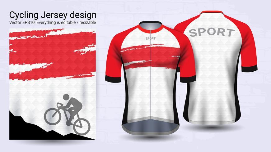 Download Best Cycling Jerseys, Short sleeve sport mockup template ...