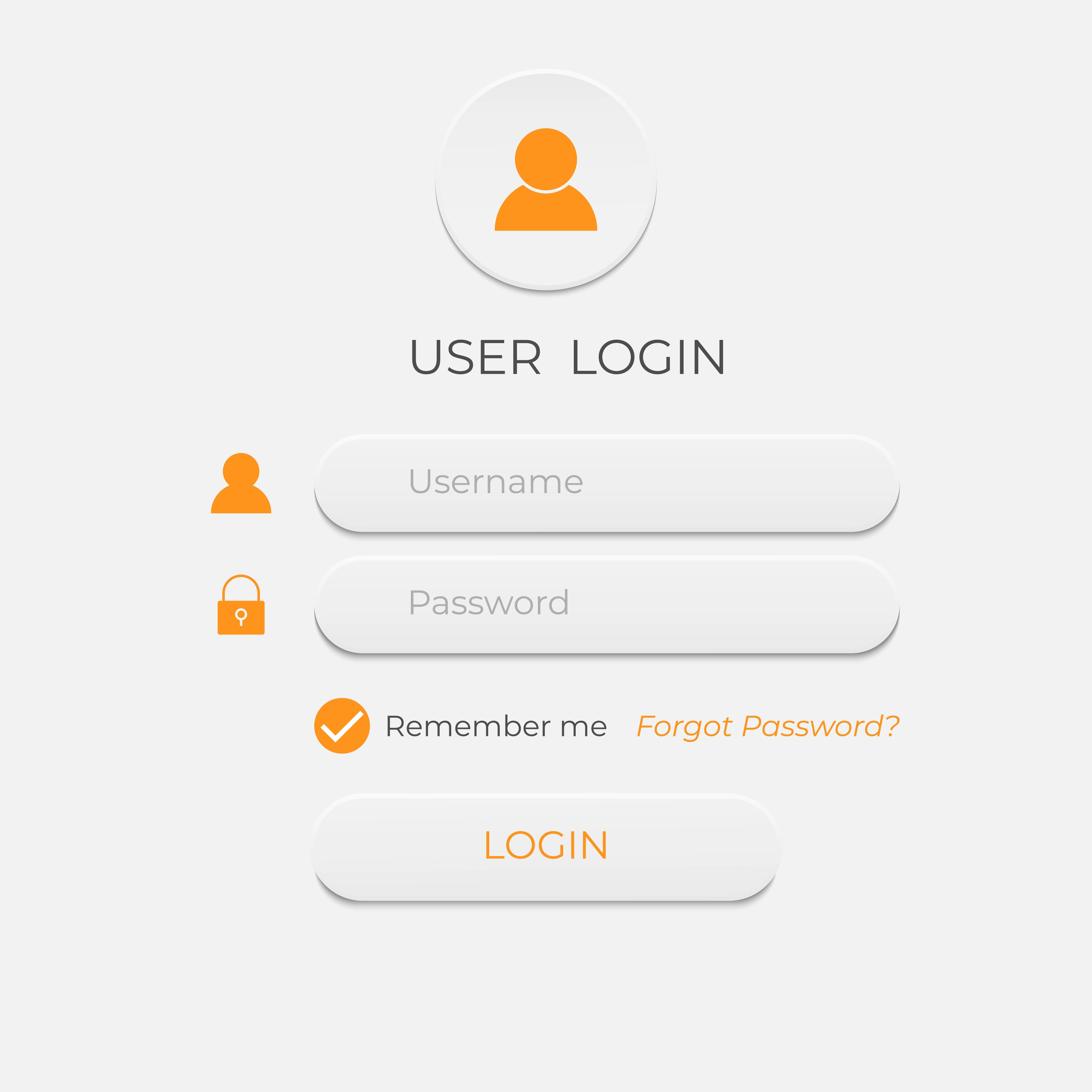 Login And Sign In User Interface Business Website Modern
