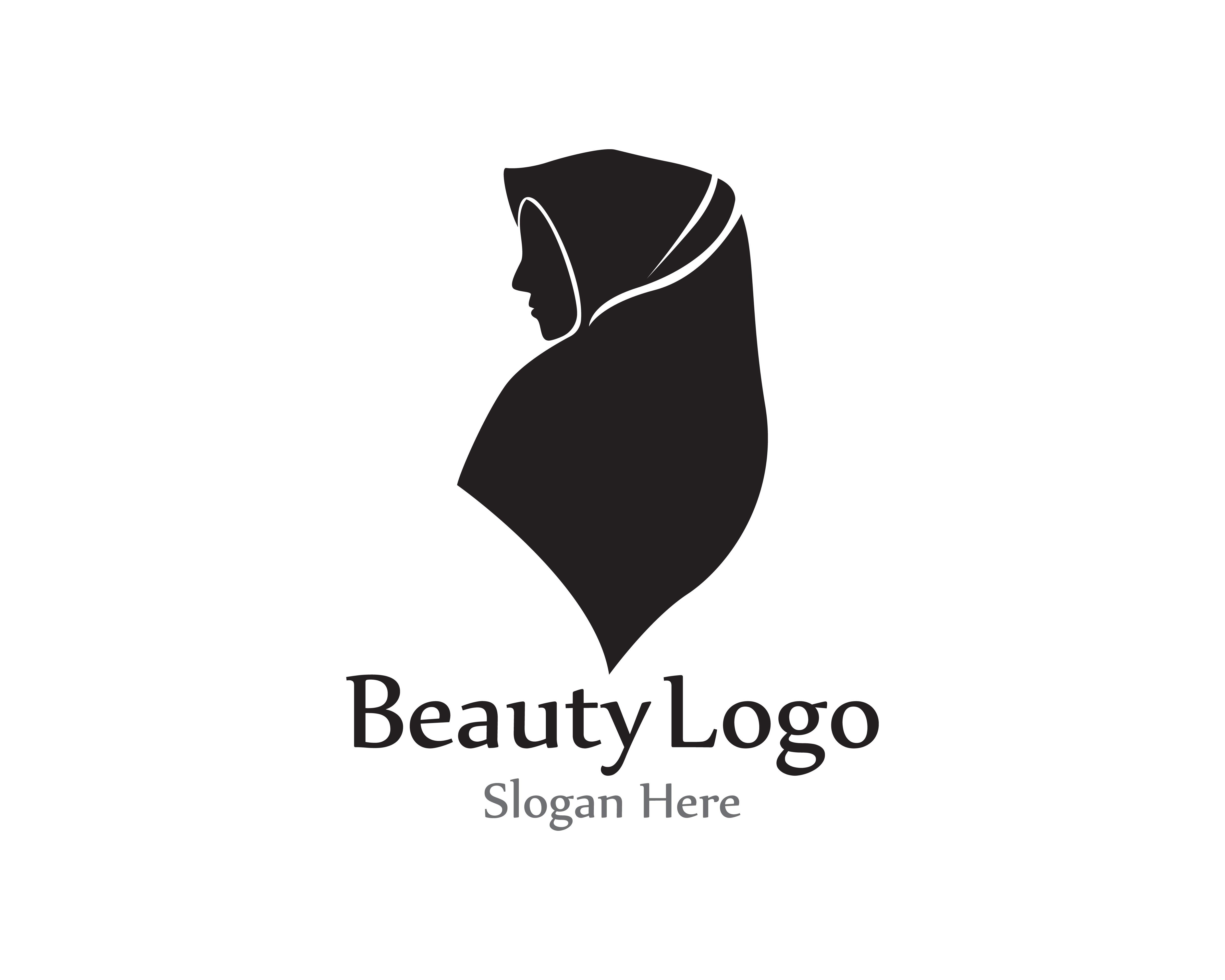 Hijab Silhouette Free Vector Art