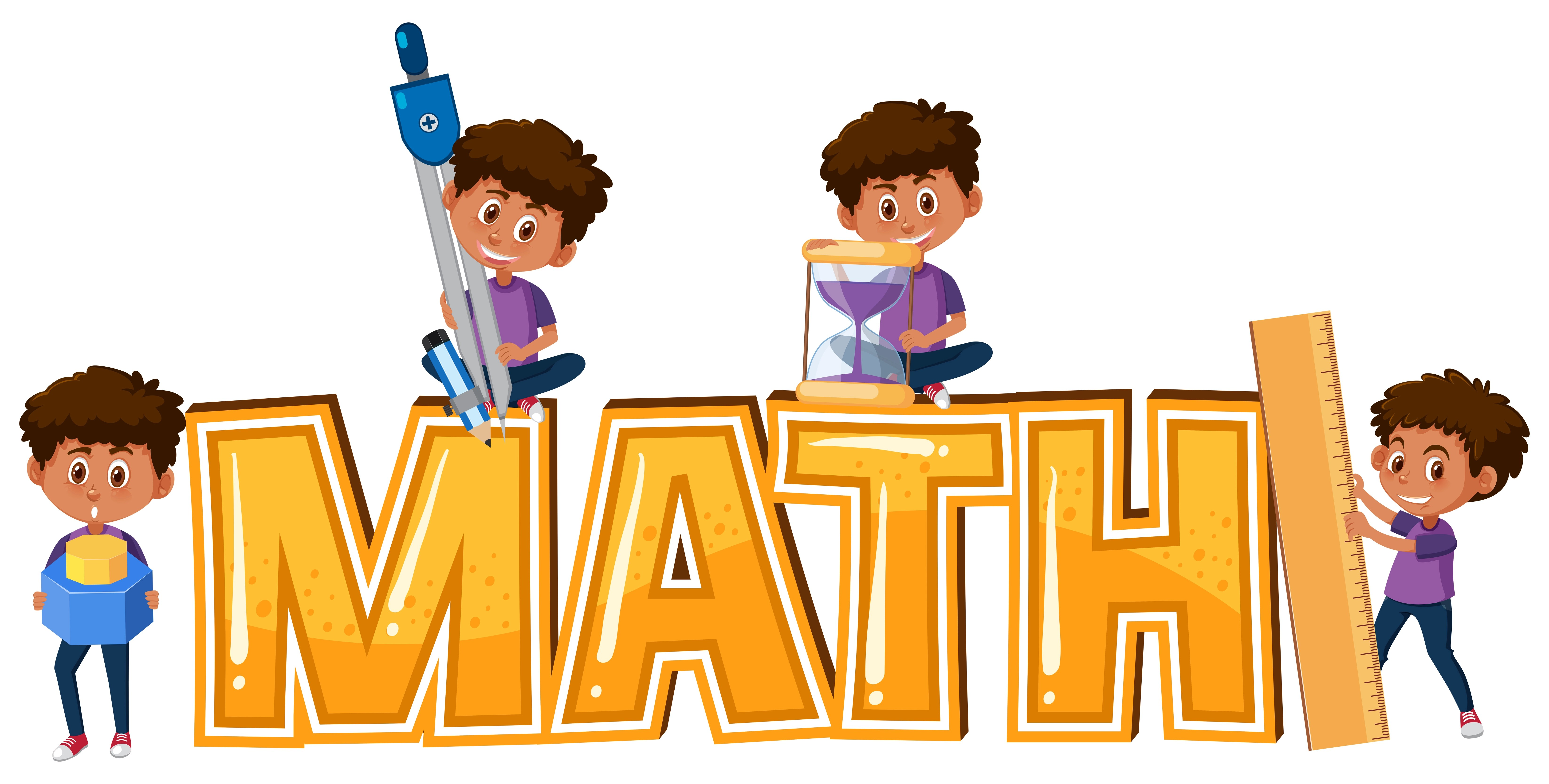 Kid And Math Icon