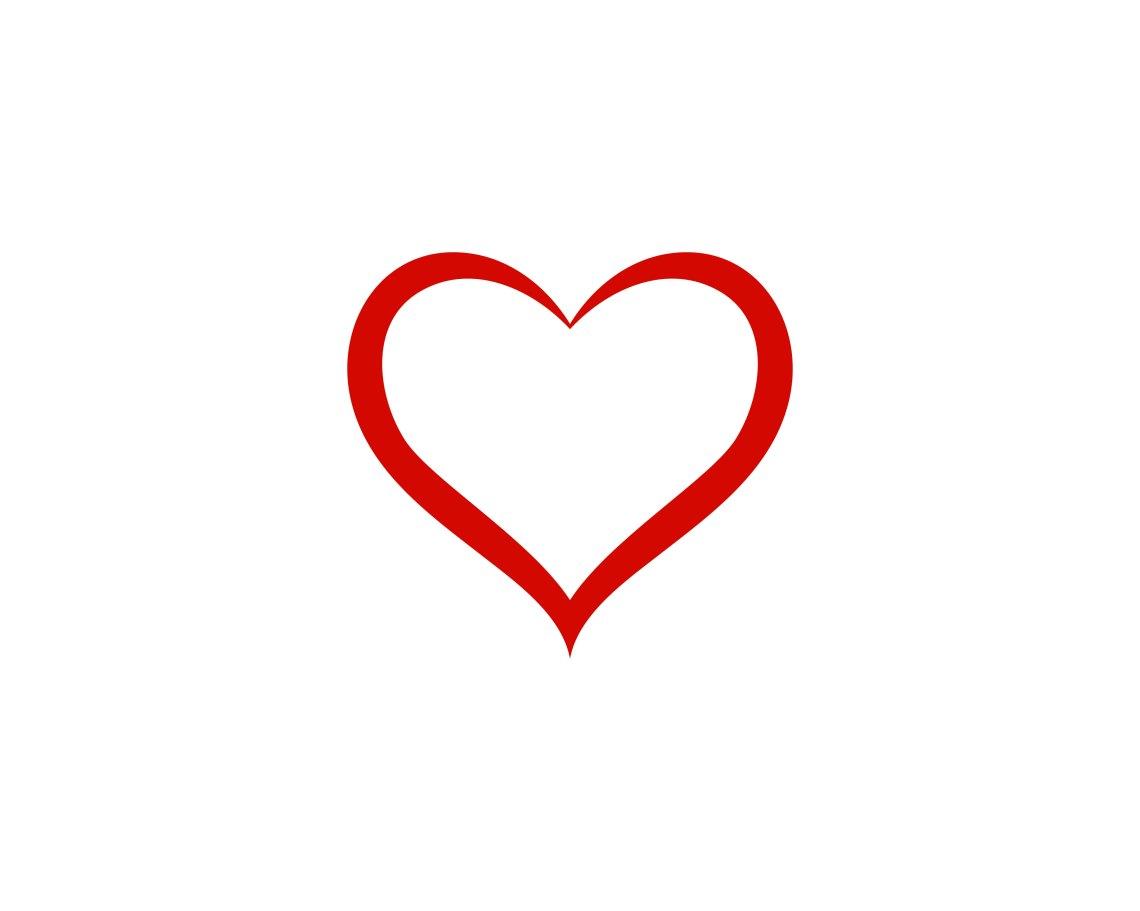 Download LOve heart logo and symbol vector - Download Free Vectors ...