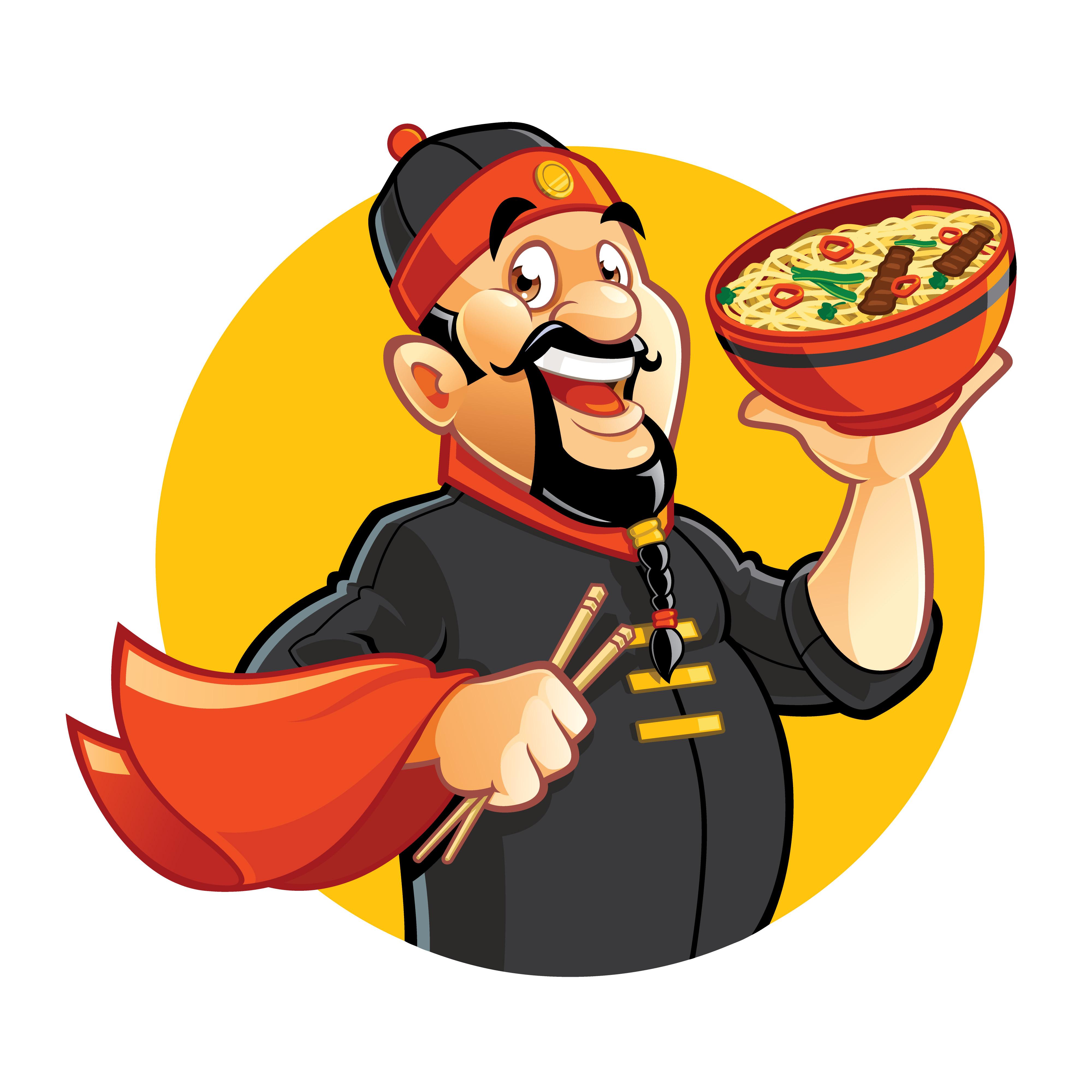 Chinesisch Essen Clipart