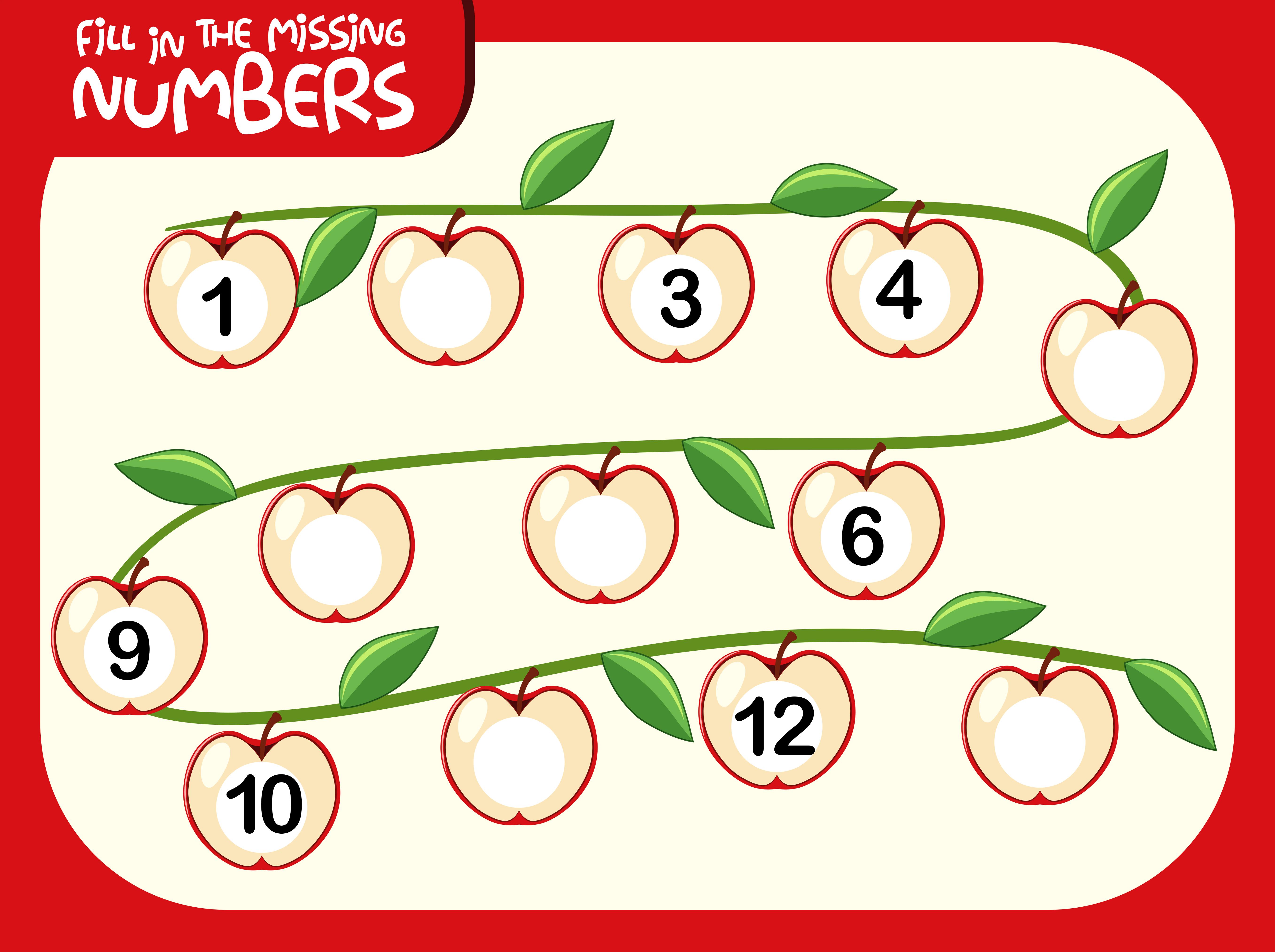 A Number Math Worksheet