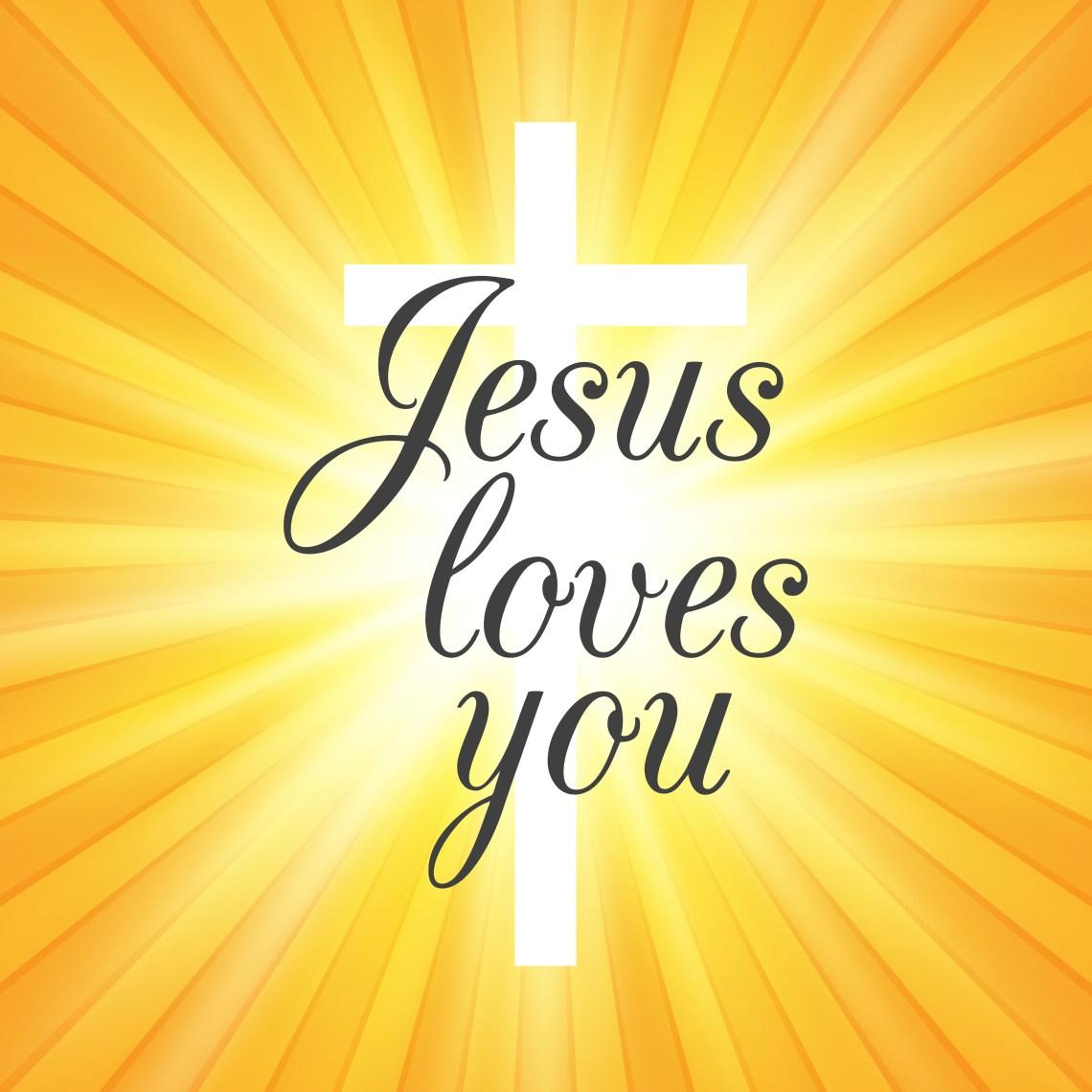 Download Jesus Loves You Free Vector Art - (10 Free Downloads)