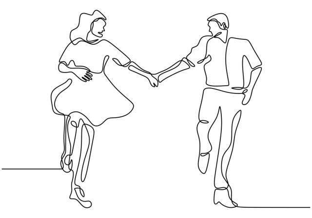 Continuous line drawing. Romantic couple holding hands. Lovers theme  concept design. One hand drawn minimalism. Metaphor of love vector  illustration, isolated on white background. 1957215 Vector Art at Vecteezy