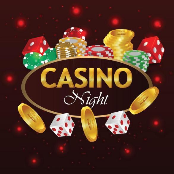 casino en línea juego de apuestas de lujo jugando a las cartas 2215216  Vector en Vecteezy