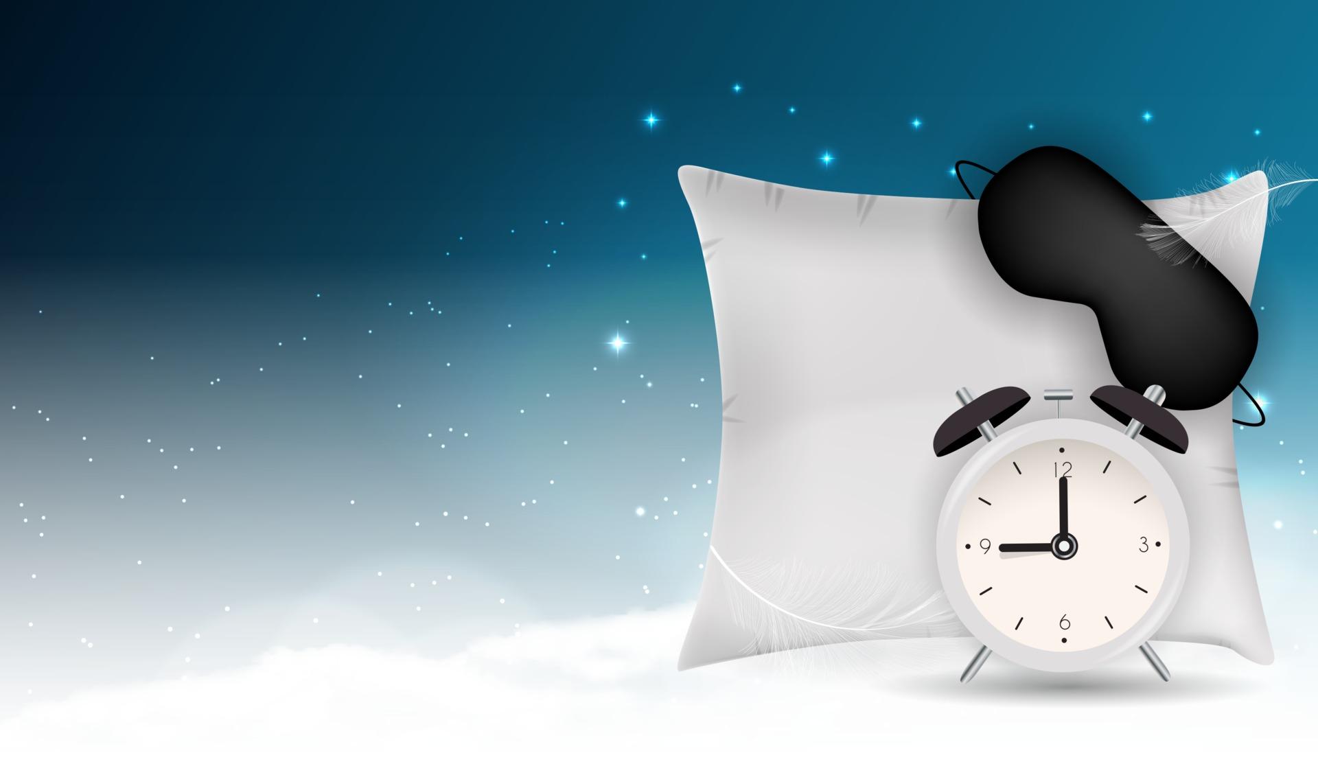 funny sleeping mask alarm clock
