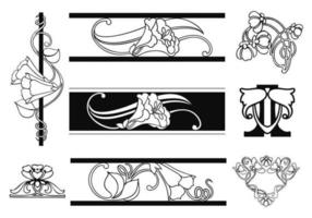 Art Nouveau Design Free Vector