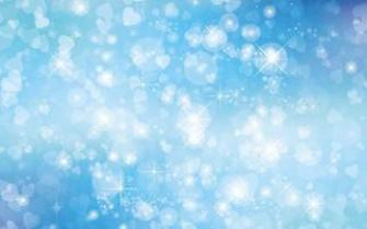 Bokeh Glitter Background Illustration vector