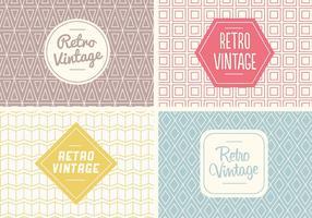 Free Seamless Vintage Pattern Vector
