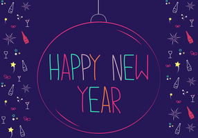 New Year Free Vector Art 12704 Free Downloads